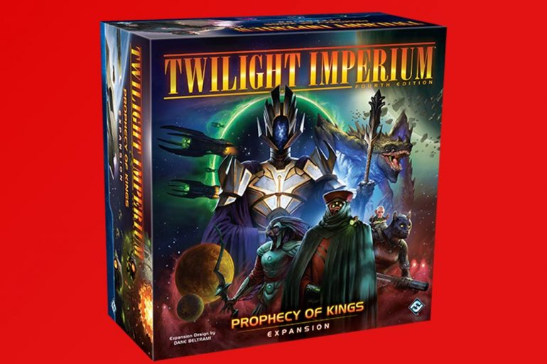 Twilight Imperium Expansion Prophecy of Kings
