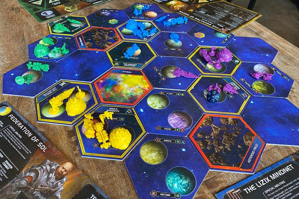 Twilight Imperium Board Game Gameplay