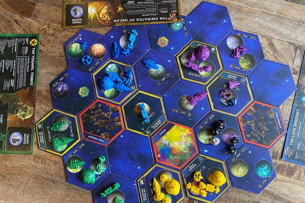 Twilight Imperium Board Game Overview