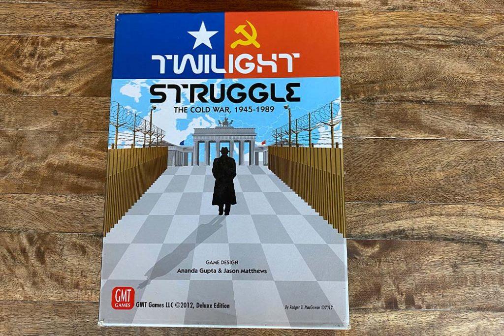 Twilight Struggle Board Game Box Art