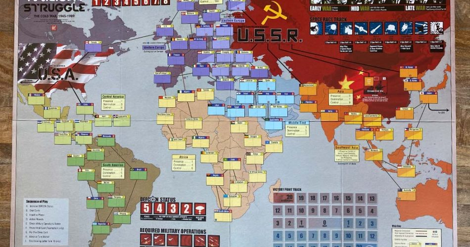 Twilight Struggle Board Game Overview
