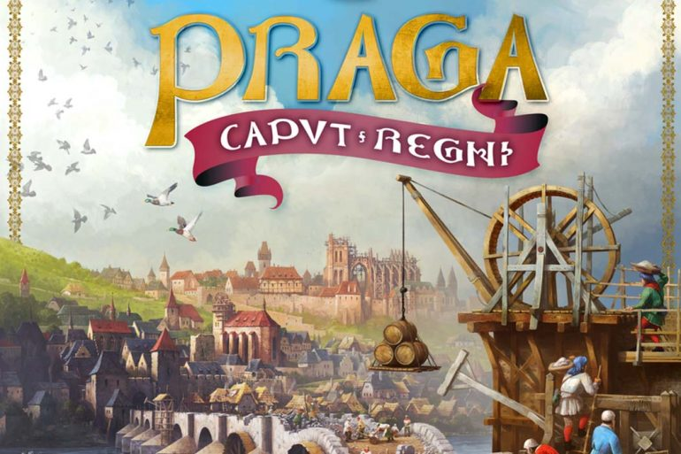Underwater Cities Designer's New Game Praga Caput Regni Coming November 2020