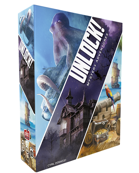 Unlock Mystery Adventures Box