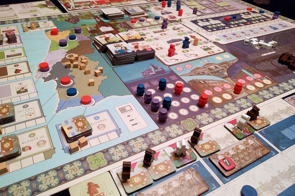 Vinhos Board Game Overview