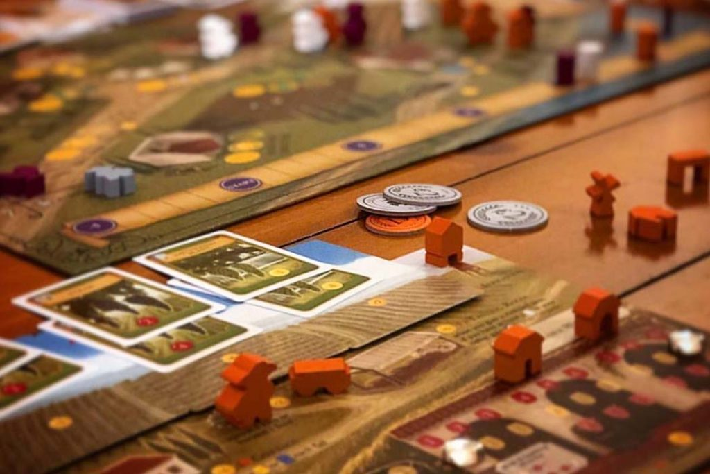 Viticulture Board Game Player View