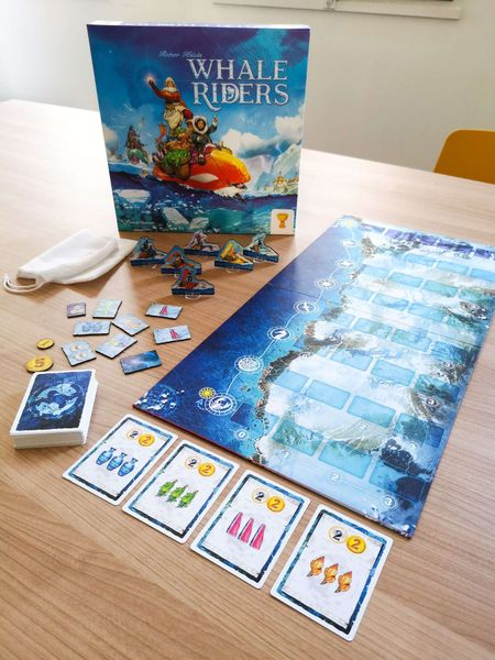 Whale Riders Board Game Overview