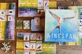 Wingspan Board Game Box Art