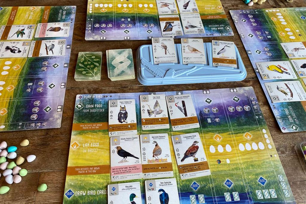Wingspan Board Game Overview
