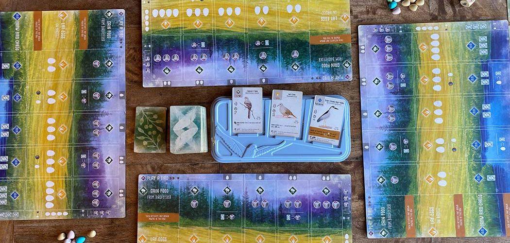 Wingspan Board Game Setup