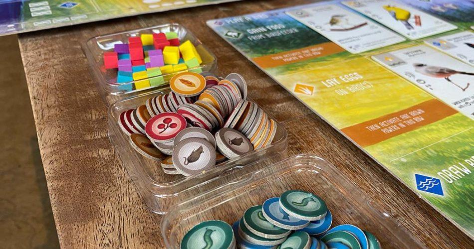 Wingspan Board Game Tokens