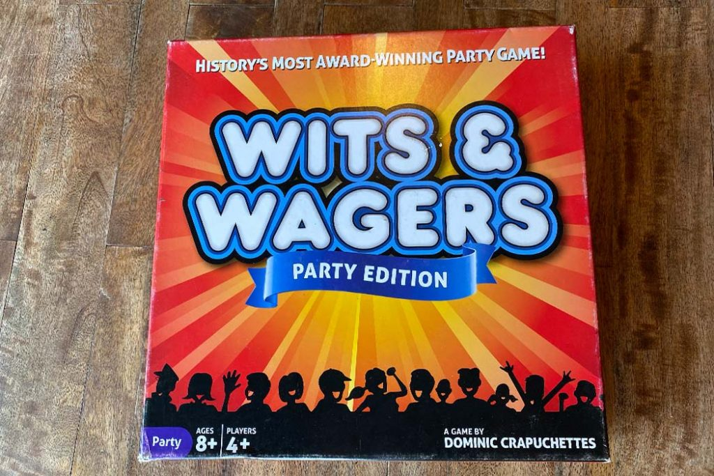Wits and Wagers Board Game Box Art