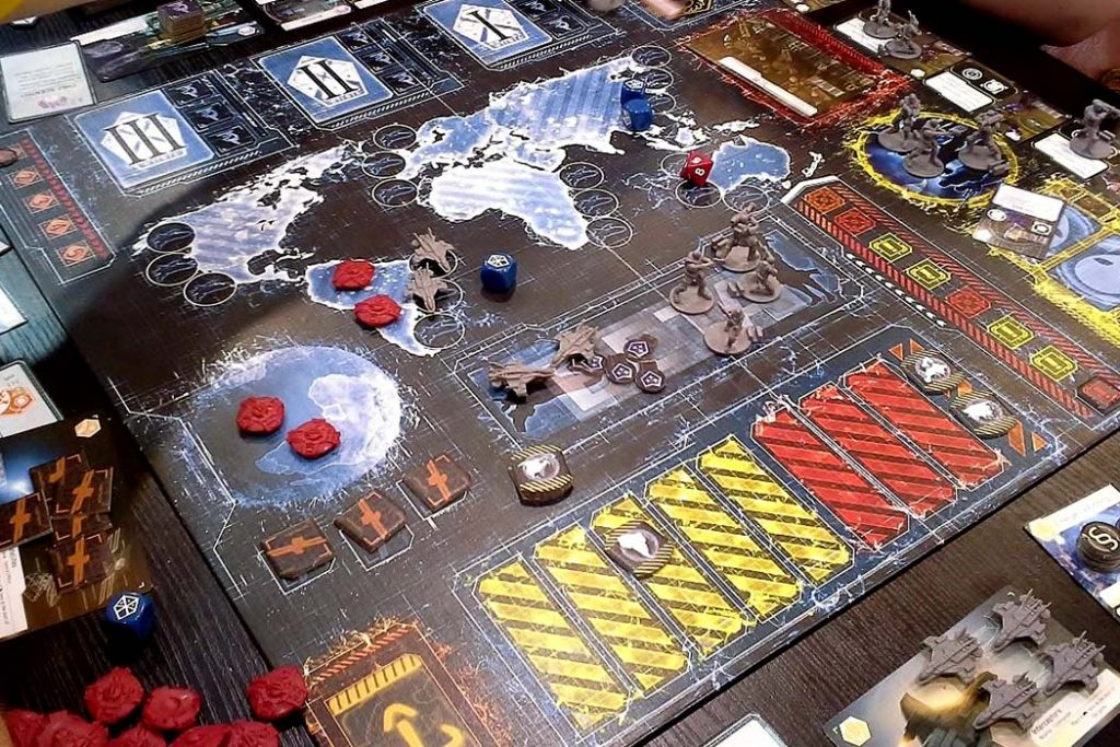 XCOM Board Game Overview