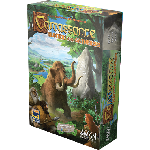 Carcassonne Hunters and Gatherers 2020 Board Game Box