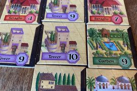 Alhambra Board Game Building Tiles