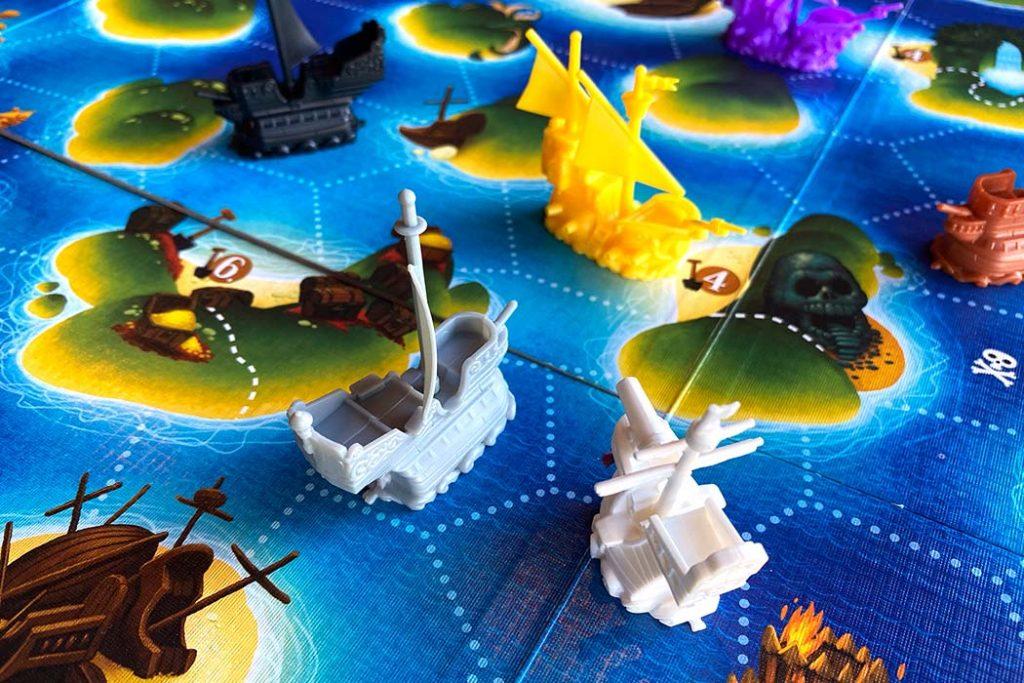 Black Fleet Board Game Ship Attack