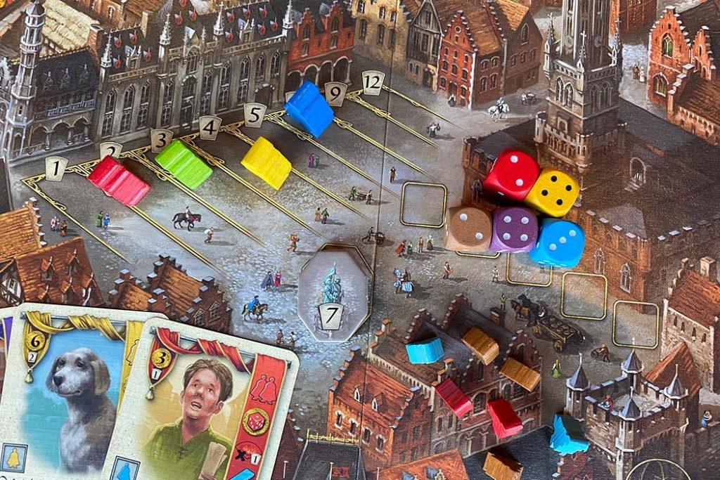 Bruges Board Game Overview
