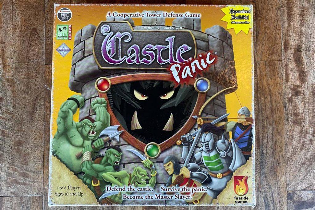 Castle Panic Board Game Box Art