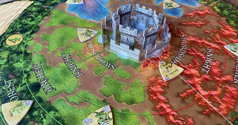 Castle Panic Board Game Overview