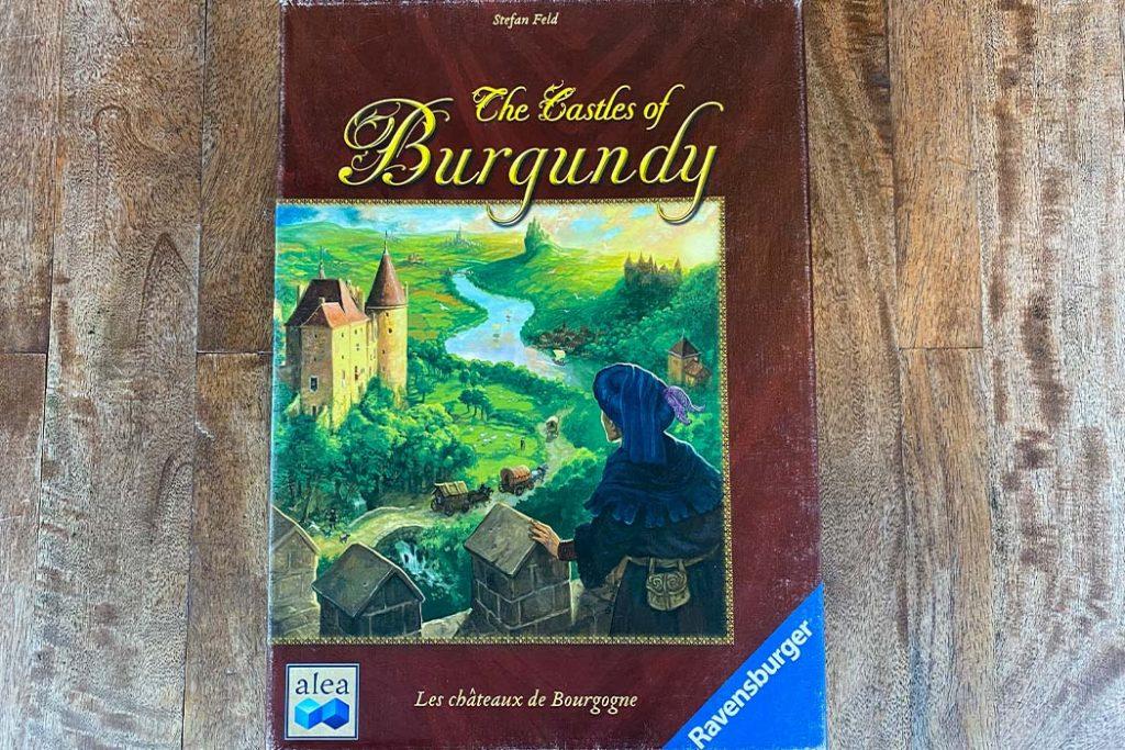 Castles of Burgundy Board Game Box Art