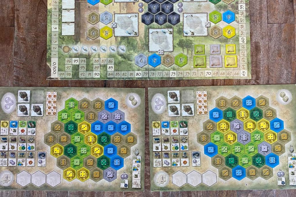 Castles of Burgundy Board Game Overview