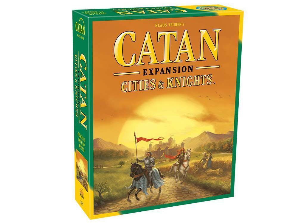 Catan Cities and Knights Expansion Box