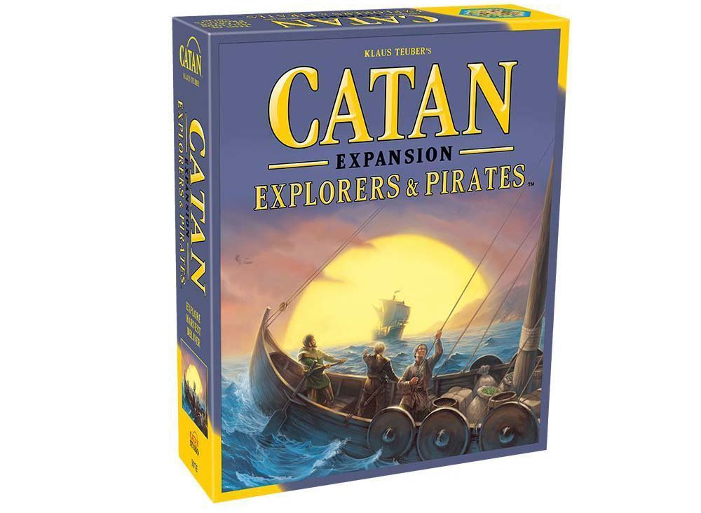 Catan Explorers and Pirates Expansion Box