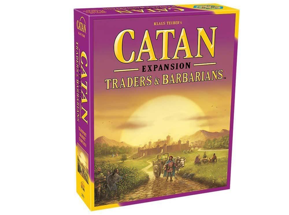 Catan Traders and Barbarians expansion box