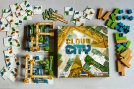 Cloud City Board Game Components Overview