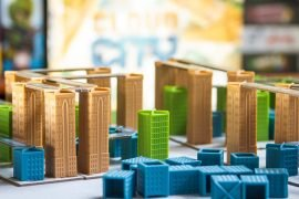Cloud City Board Game Street View
