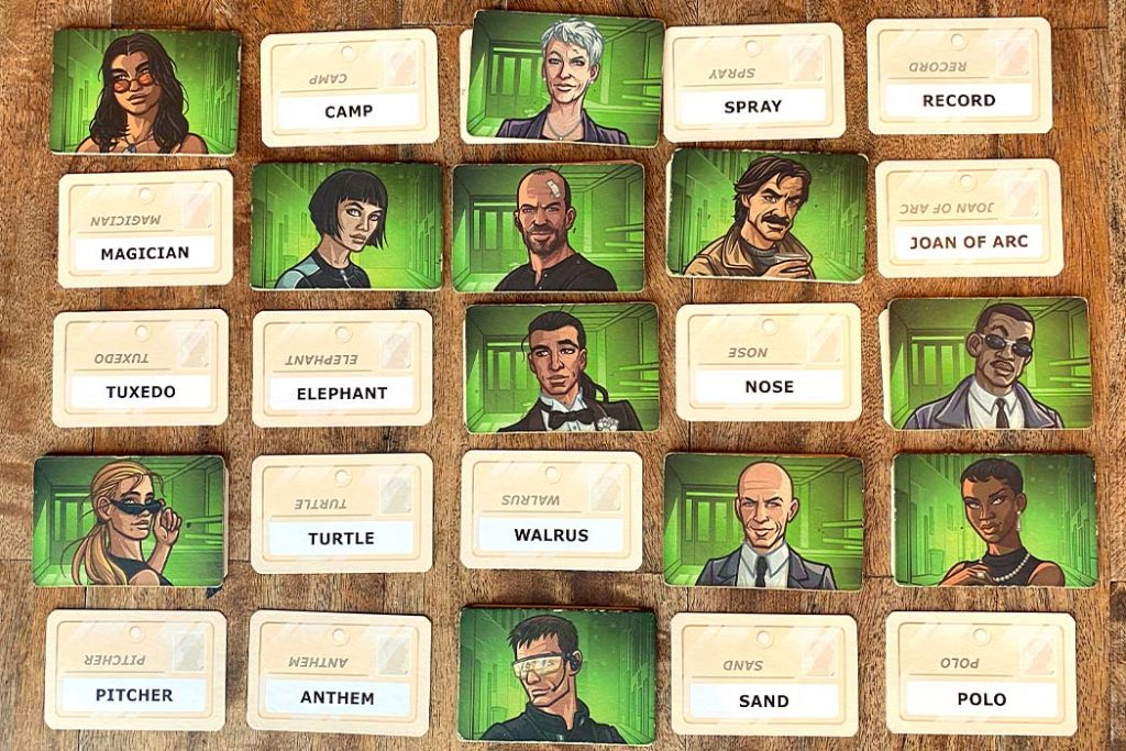 Codenames Duet Board Game Overview