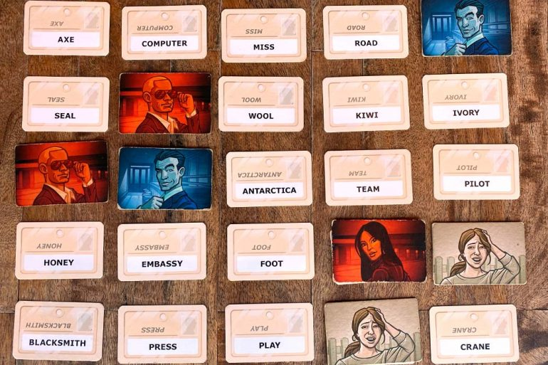 Codenames Board Game Overview