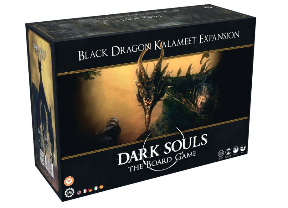 Best Dark Souls The Board Game Expansions Black Dragon Kalameet Box