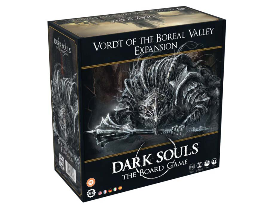 Best Dark Souls The Board Game Expansions Vordt of the Boreal Valley Box