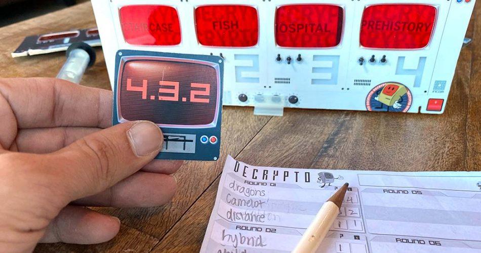 Decrypto Board Game Play