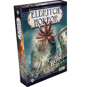Eldritch Horror Expansion Cities In Ruin Box