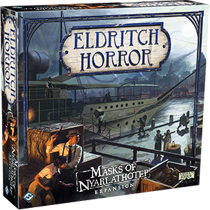 Eldritch Horror Expansion Masks of Nyarlathotep Box