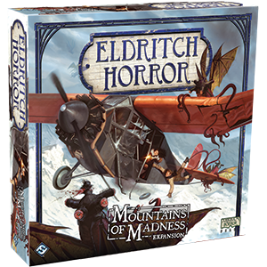 Eldritch Horror Expansion Mountains Of Madness Box