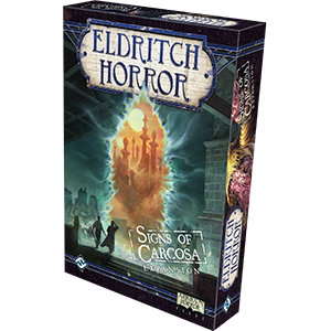 Eldritch Horror Expansion Signs Of Carcosa Box