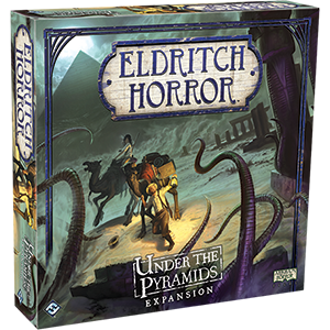 Eldritch Horror Expansion Under The Pyramids Box