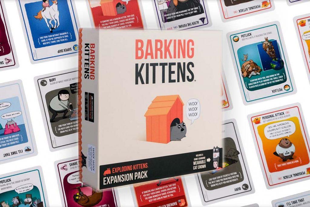 Exploding Kittens Expansions Barking Kittens