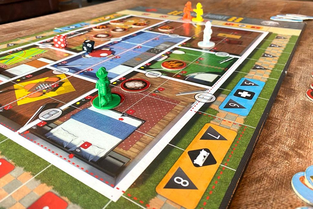 Flash Point Fire Rescue Board Game Player View
