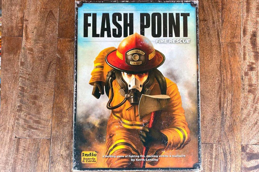 Flash Point Fire Rescue Board Game Box Art