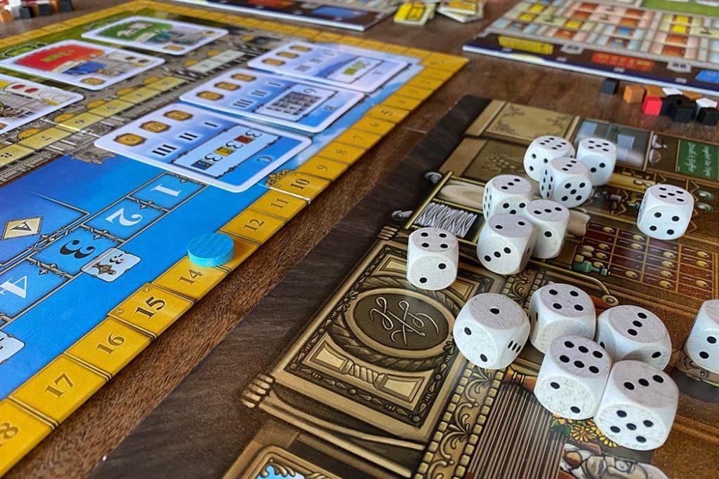 Grand Austria Hotel Board Game Dice