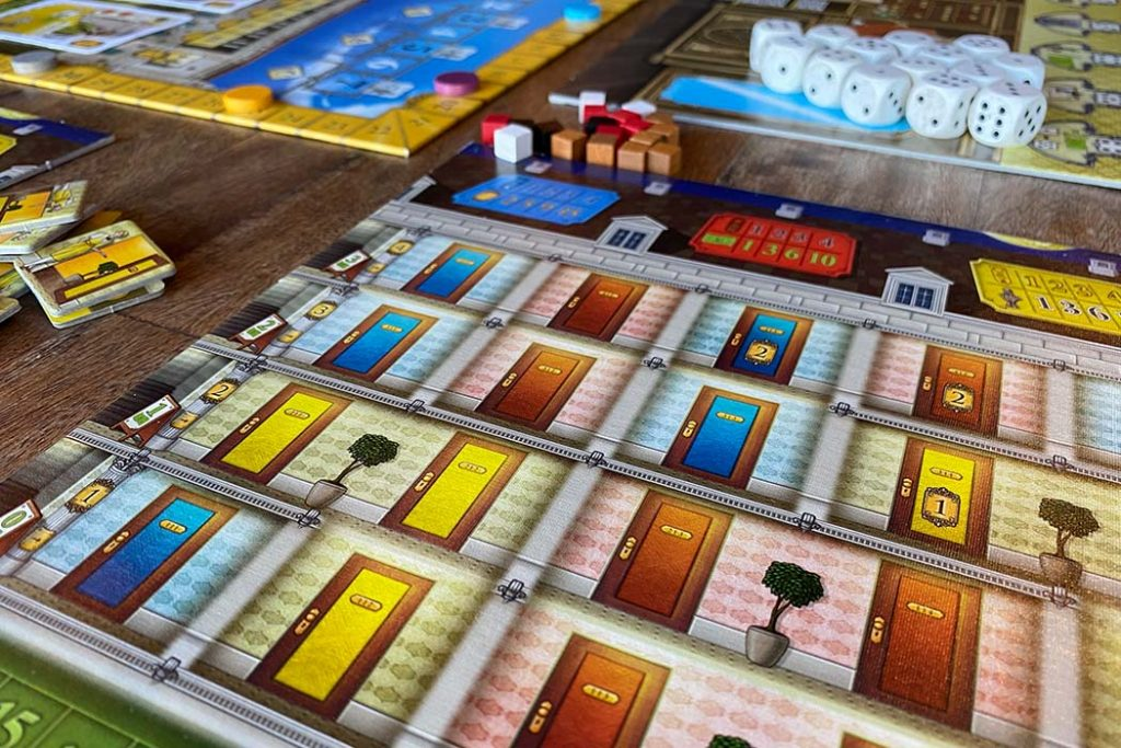 Grand Austria Hotel Board Game Player Tableau