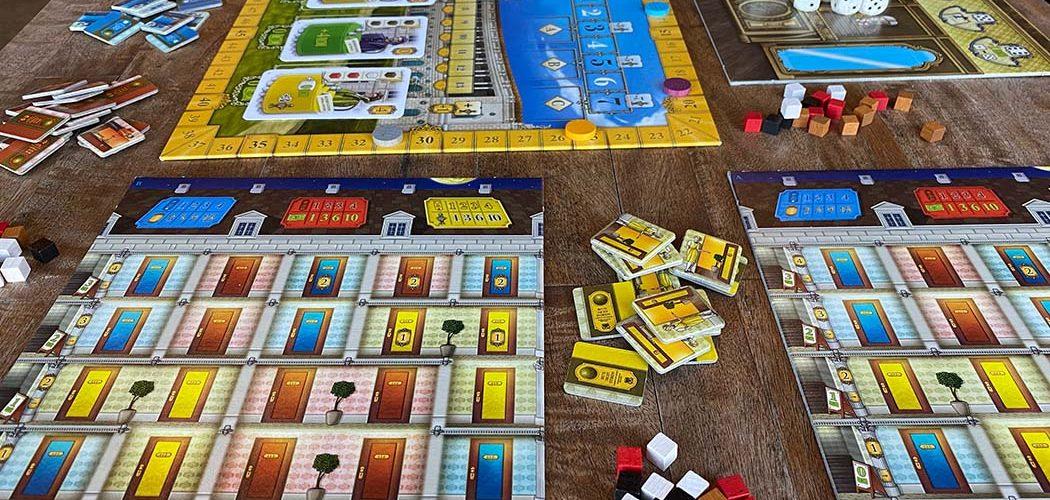 Grand Austria Hotel Board Game Player View