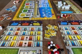 Grand Austria Hotel Board Game Player View