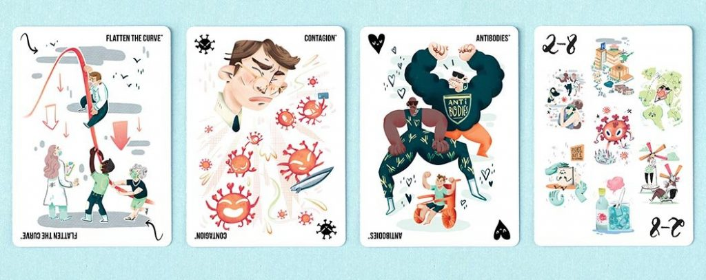 It's Contagious Kickstarter Pandemic Cards