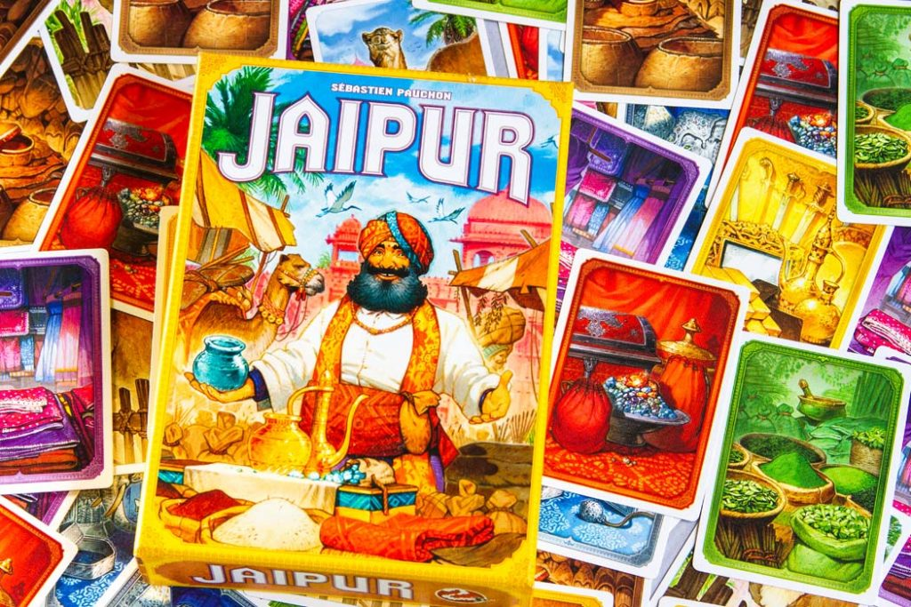Jaipur Board Game Box Art