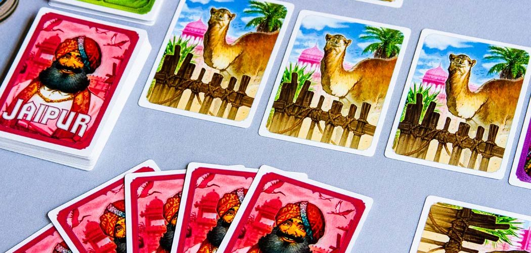 Jaipur Board Game Camel Cards