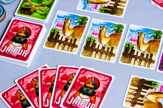 Jaipur Board Game Camel Cards